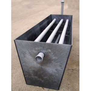 Zemní pískový filtr - čov, čistička odpadních vod